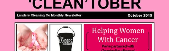 'CLEAN'TOBER Newsletter 2015