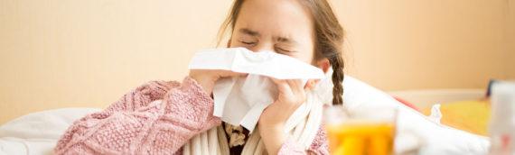 Someone's sick…disinfect it?